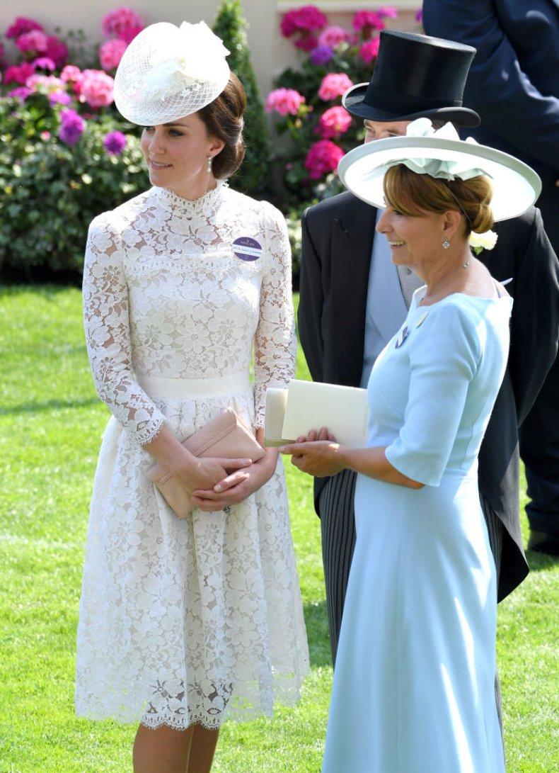 Kate Middleton, Carole Middleton at Royal Ascot