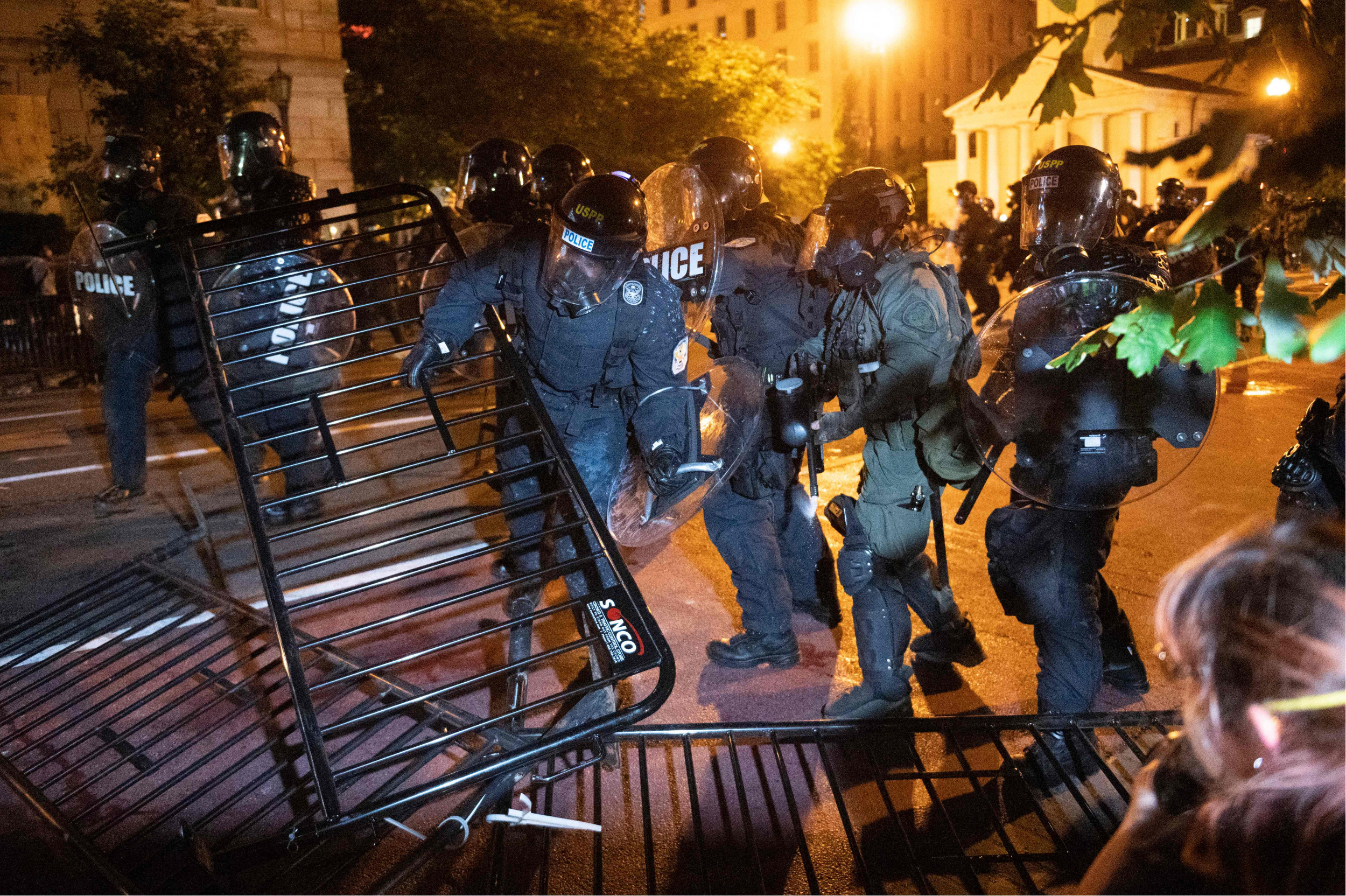 D.C. Delegate Says Police Teargassed Him While Protesting Near White House