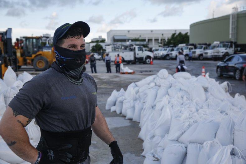 Hurricane Dorian, preparations, August 2019