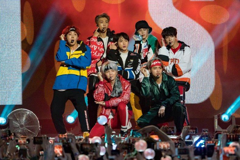Kpop BTS group