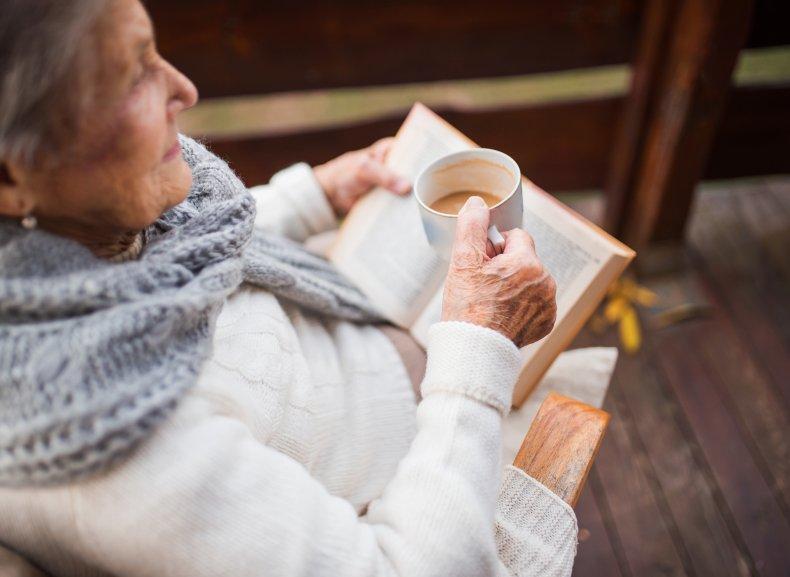 older woman, elderly, stock, getty