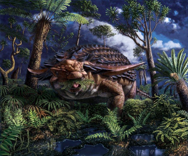 Borealopelta markmitchelli, dinosaur