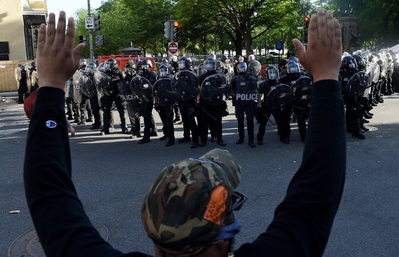 police white black people treatment