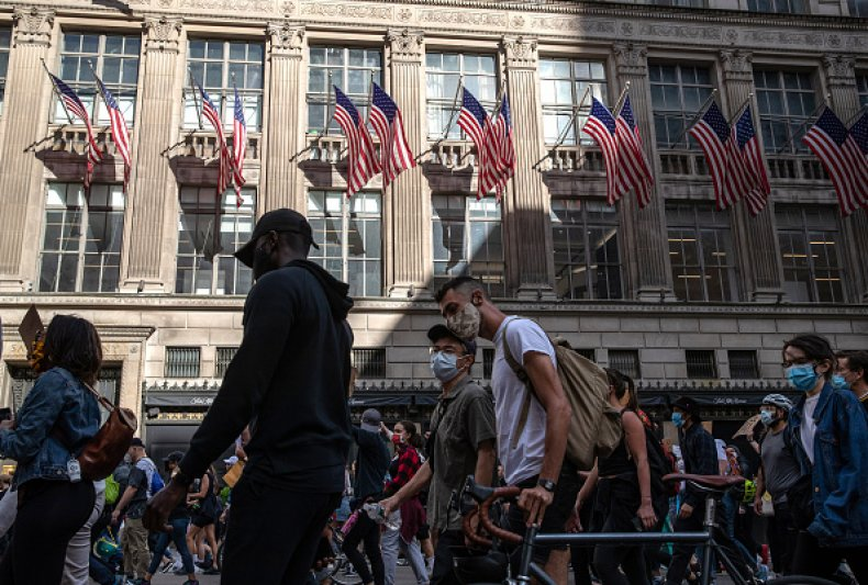 BLM protest NYC