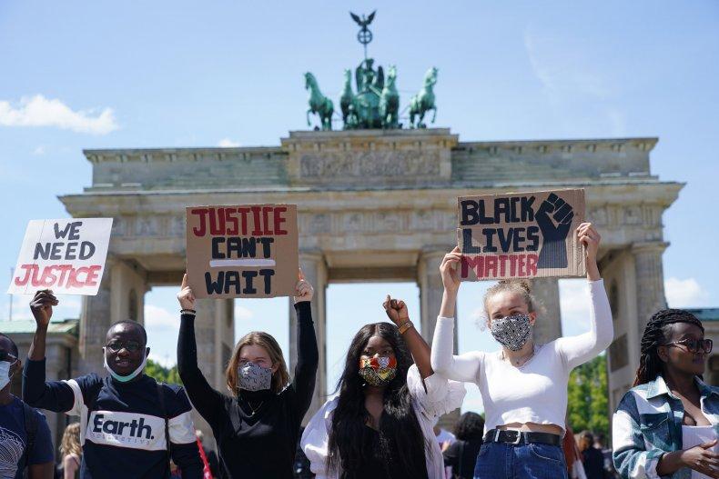 George Floyd protest, Berlin