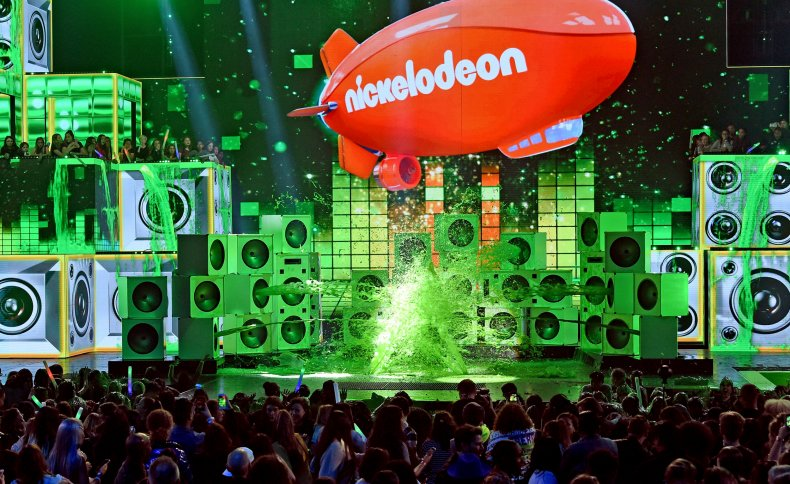 Nickelodeon Slime Stage