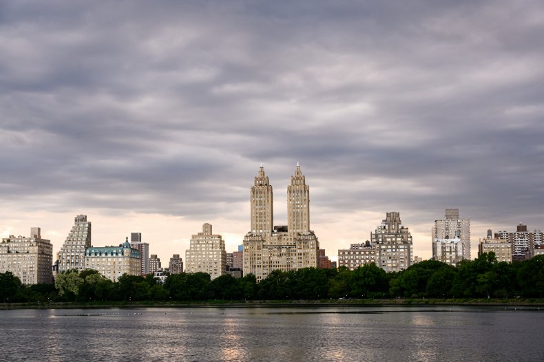 Upper West Side seen from Central Park