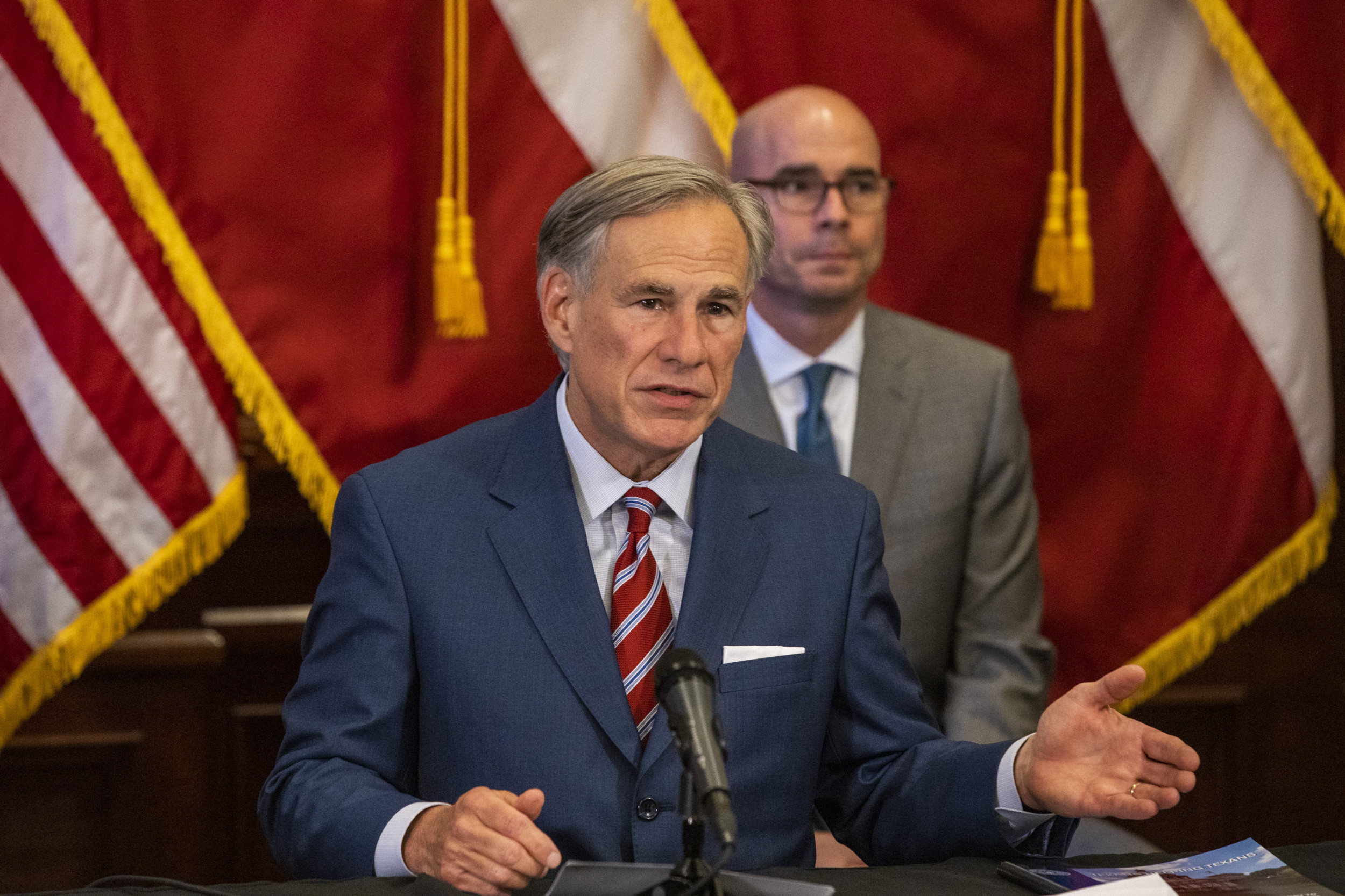 Texas governor joins 8 others in not requesting military presence to contain protesters