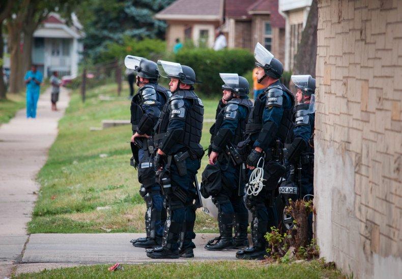 Milwaukee police  August 2016