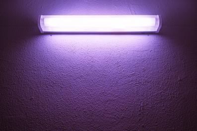 Ultraviolet lamp (Stock)