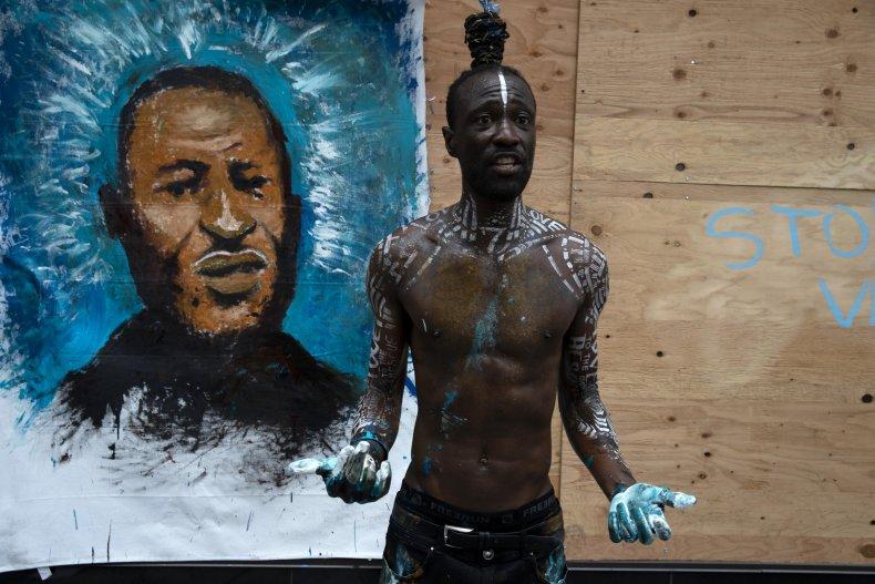 Protest Art George Floyd