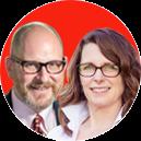 Abe Feuerstein and Sue Ellen Henry