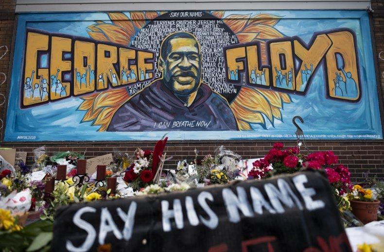 george floyd family death speak protest