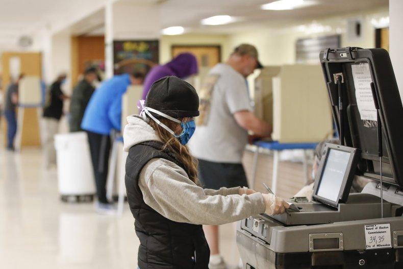 COVID-19 coronavirus election voting