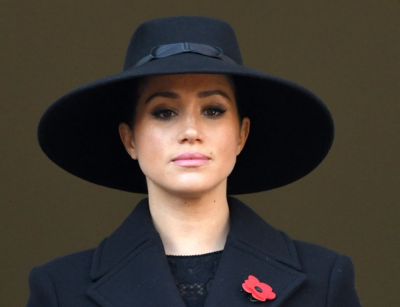 Meghan Markle Remembrance Sunday Cenotaph