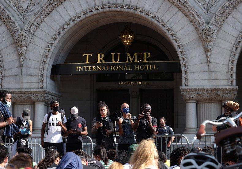 Trump International Hotel Protest, Washington D.C.