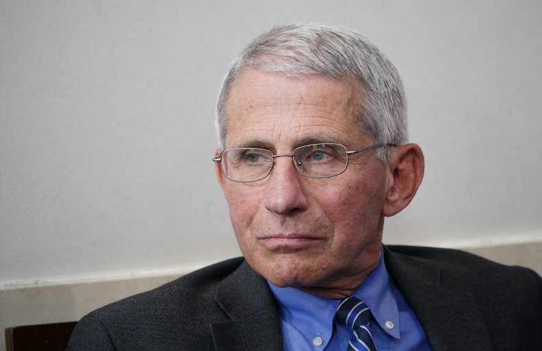Dr. Fauci at White House April 2020