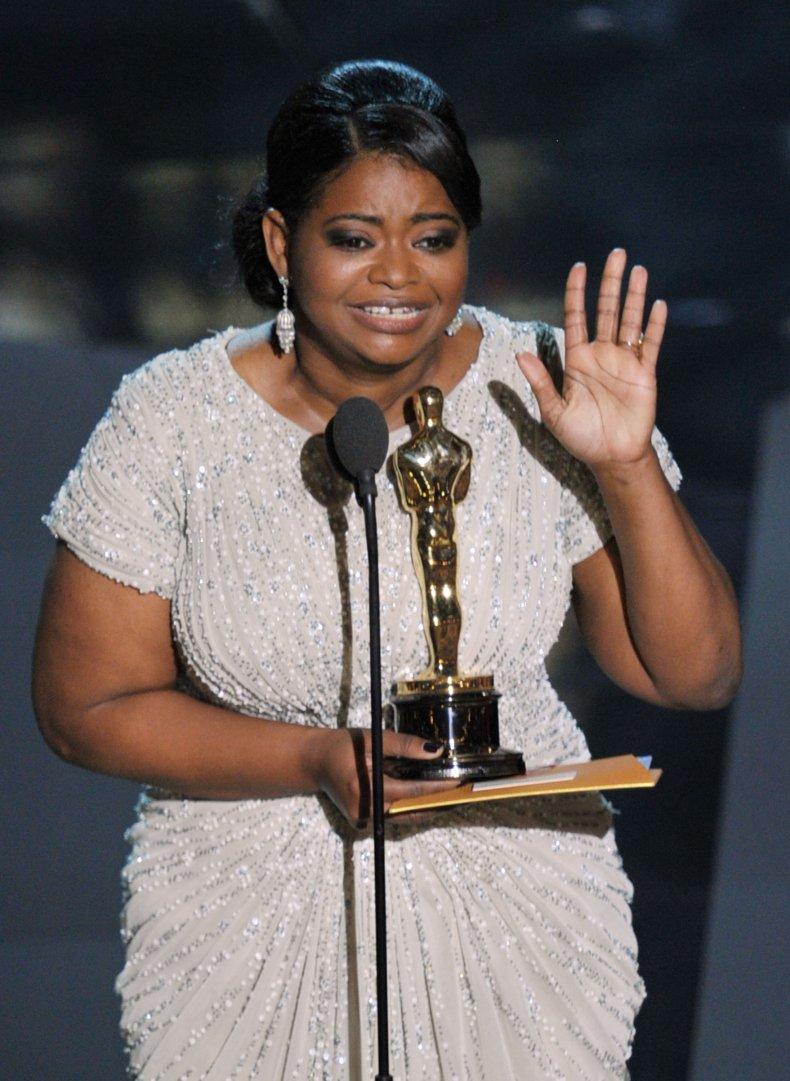 Octavia Spencer The Help Academy Awards