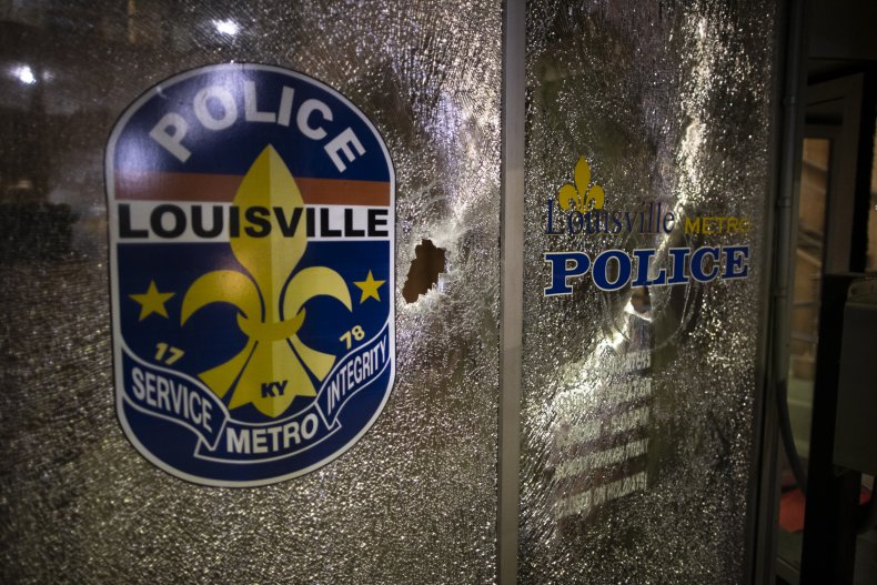 Protests Continue In Louisville Over Deaths In Recent Police Shootings