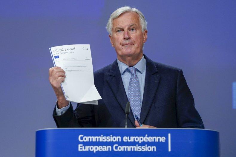 Barnier E.U chief negotiator