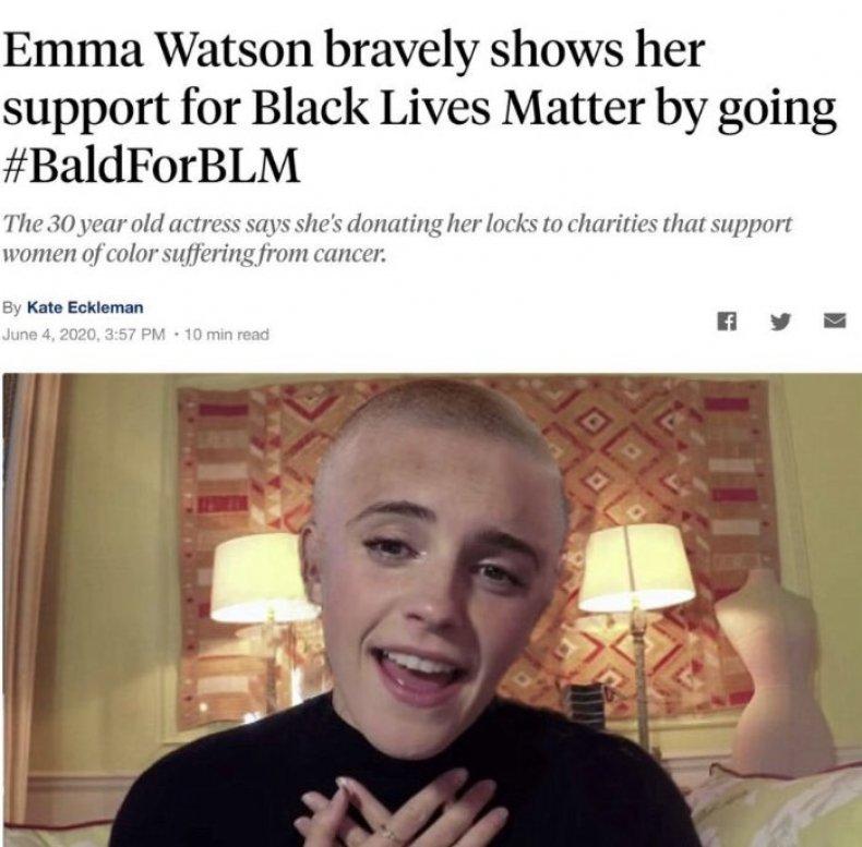go bald for black lives matter 4chan