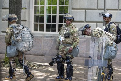 Military for DC protests