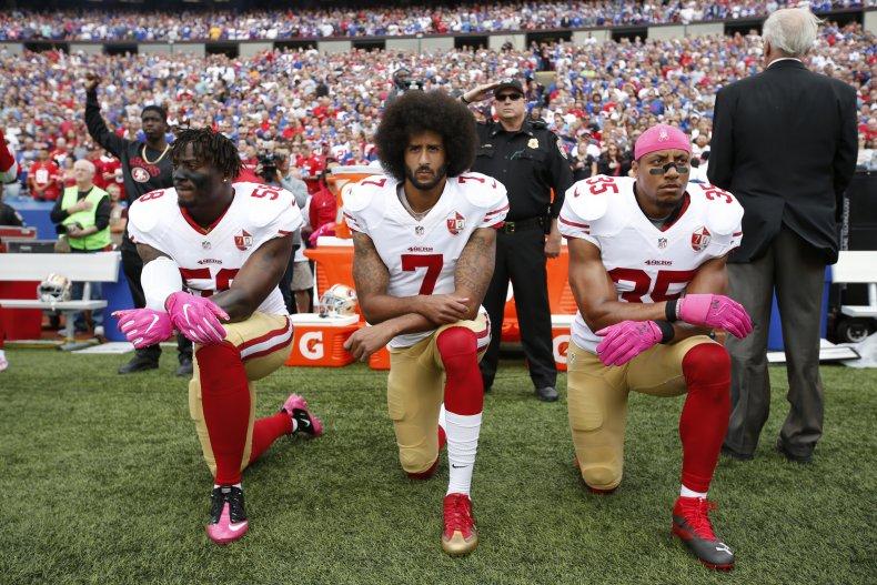 Colin Kaepernick NFL kneeling protest