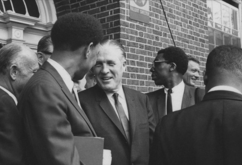 george romney civil rights protests