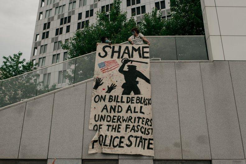 New York City Floyd protest