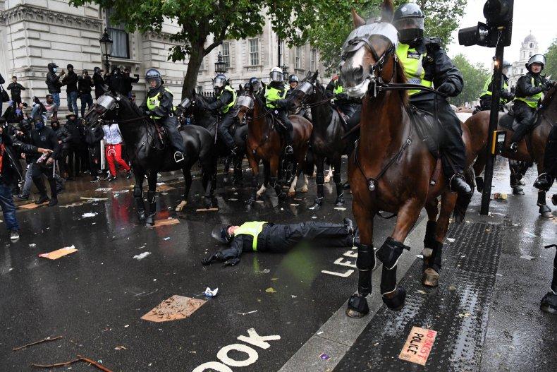 London BLM march