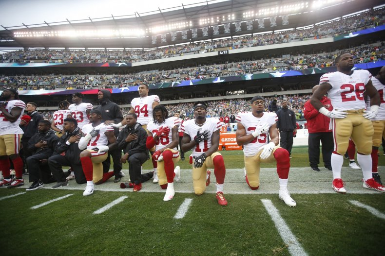 NFL, anthem protests