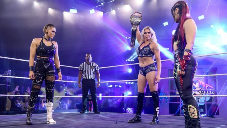 wwe nxt womens triple threat takeover house