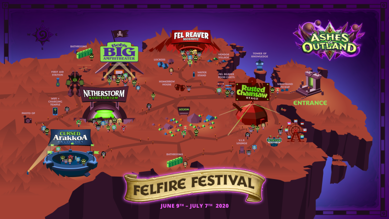 hearthstone battlegrounds balance update felfire festival