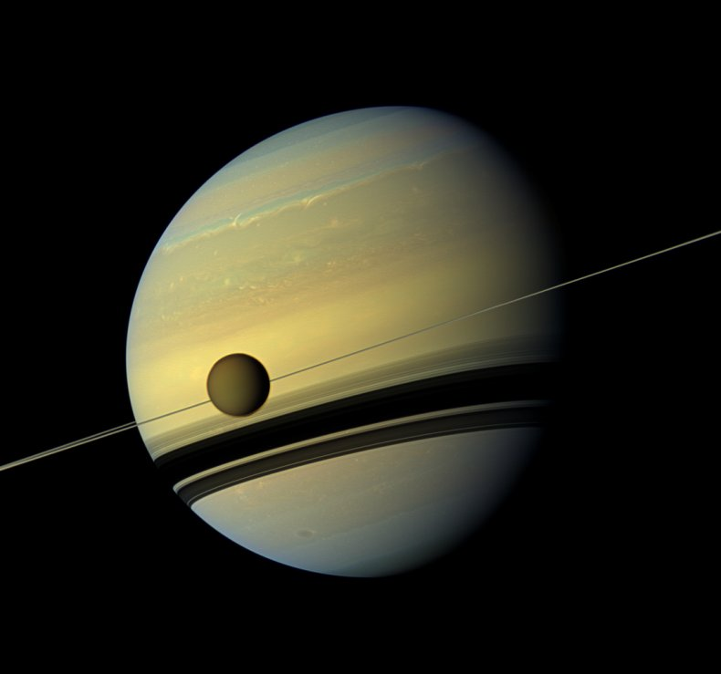 Saturn, Titan