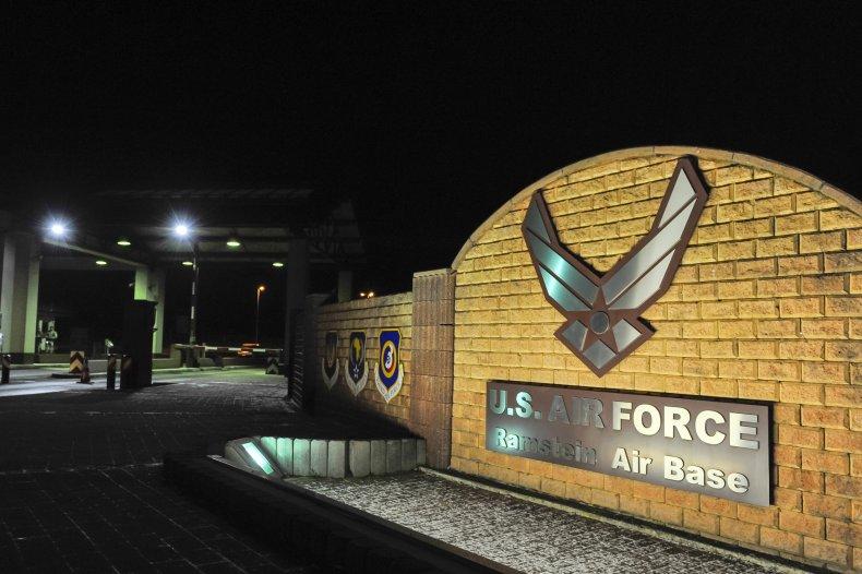 US Air base in Ramstein.