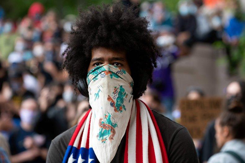 Protester George Floyd