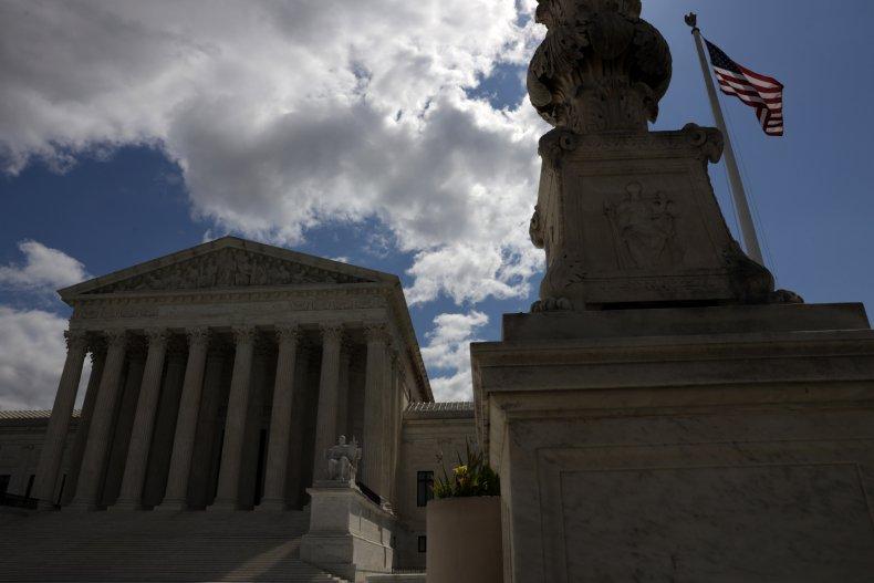 U.S. Supreme Court during coronavirus