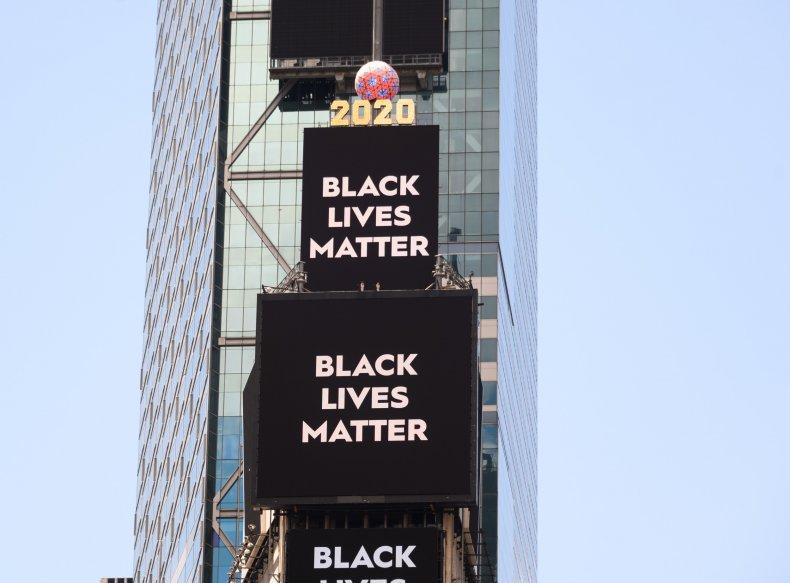 Black Lives Matter in Times Square