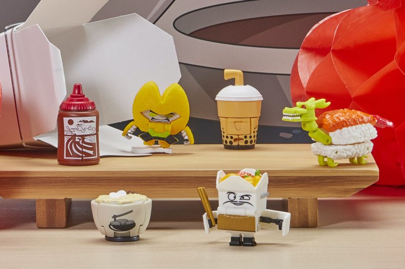 Hasbro Transformers Botbots Hibotchi Heats Foods
