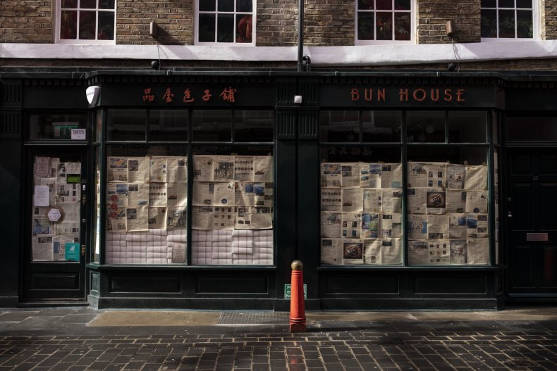 Chinatown businesses remain closed in London