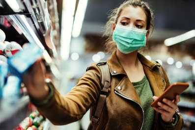 face mask, covid-19, coronavirus, getty, stock