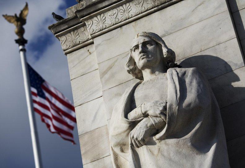 D.C. Columbus statue