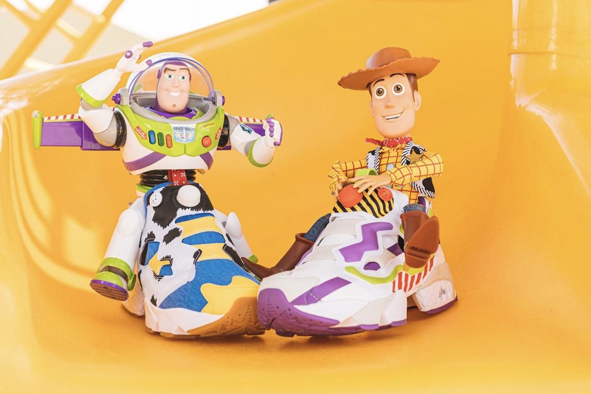 BAIT x Toy Story x Reebok InstaPump