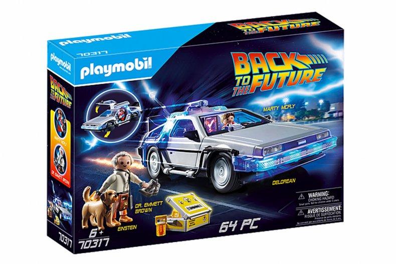 Back to the Future Playmobil DeLorean
