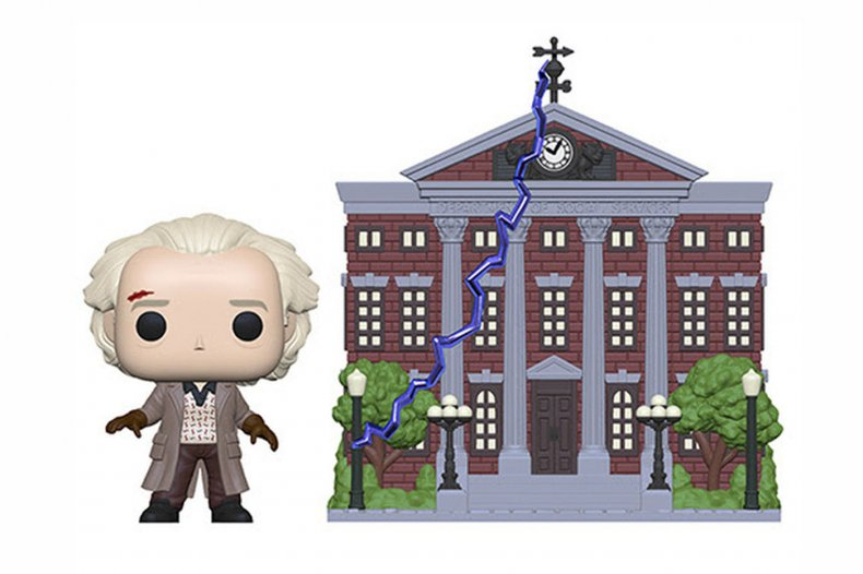 Back to the Future Funko Pop Town