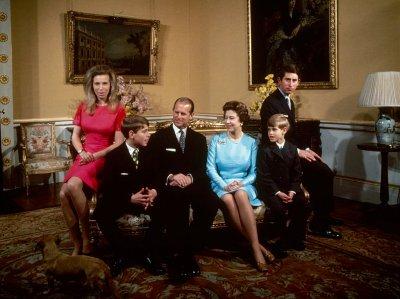 Queen Elizabeth II, Prince Philip and Family