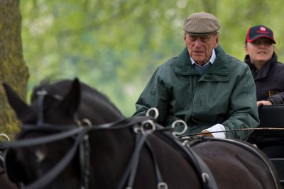 Prince Philip Carriage Riding Windsor