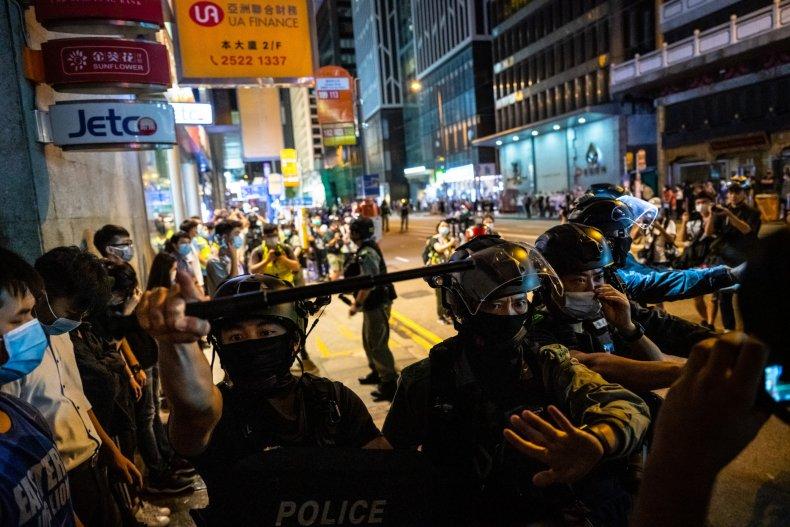hong, kong, china, protests, anniversary