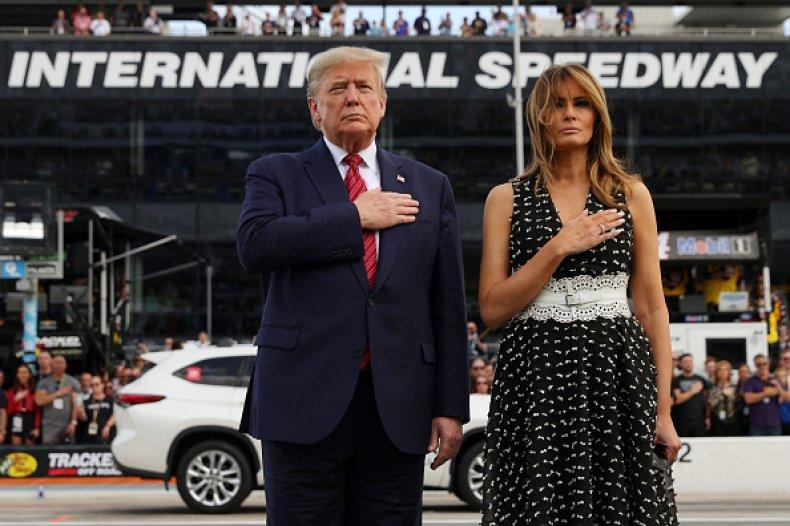 President Donald and Melania Trump