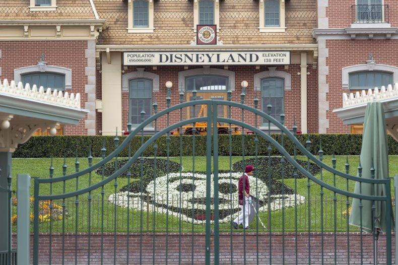 Disneyland Park California coronavirus COVID-19